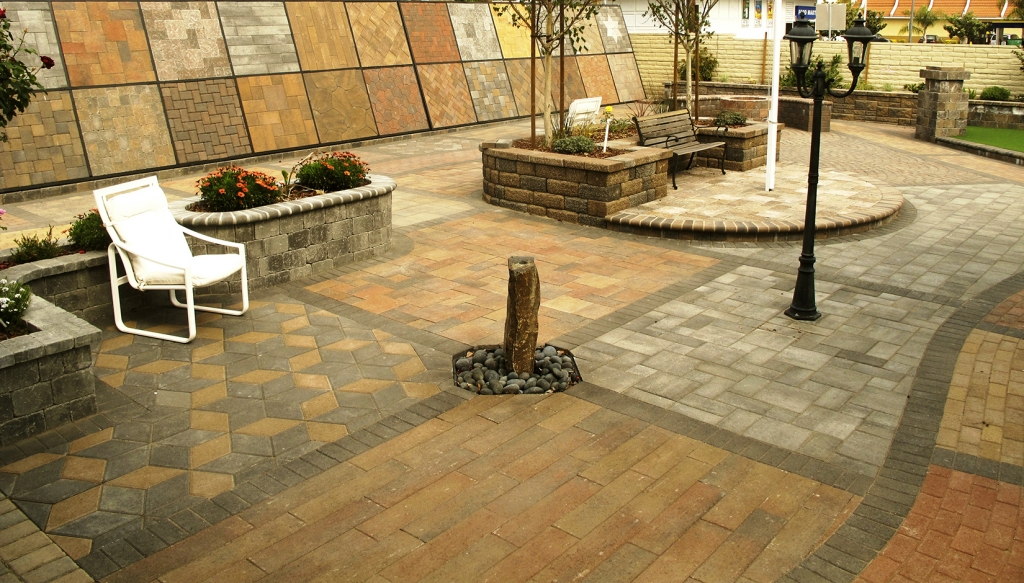 Pacific Interlock Paving Stone : Commercial photo gallery pacific interlock pavingstone