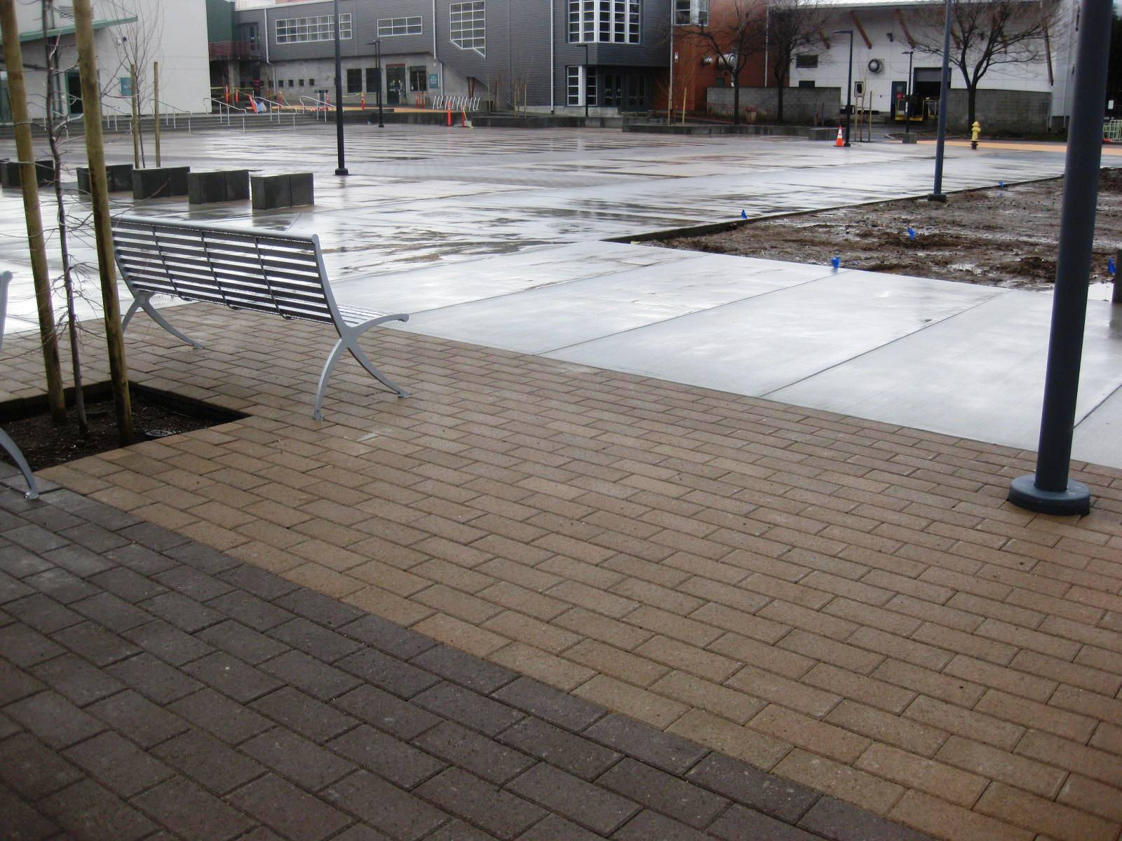 Pacific Interlock Paving Stone : Educational institutions and the advantages of hydro flo